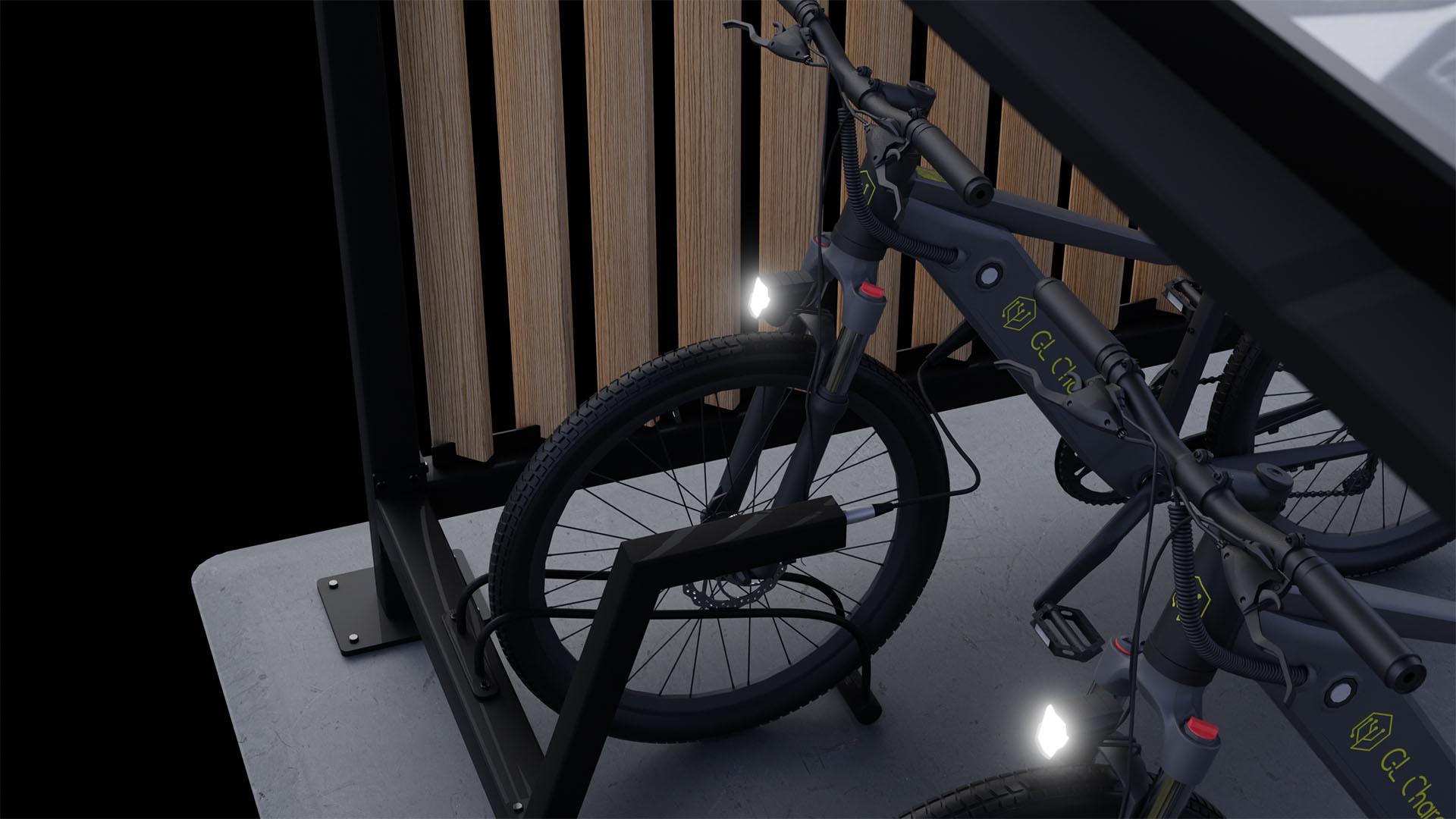 kolesarnica za električna kolesa